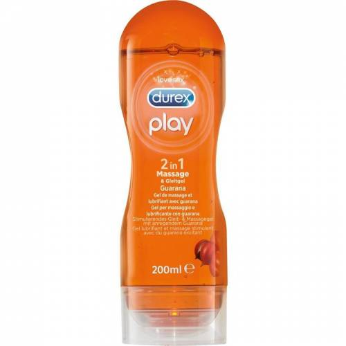 Durex Play 2 in 1 Massage & Gleitgel Guarana