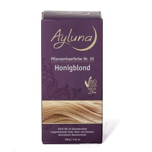 Ayluna Naturkosmetik Haarfarbe - Nr.20 Honigblond 100g Damen