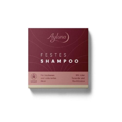 Ayluna Naturkosmetik Festes Shampoo - Für trockenes Haar 60g Damen