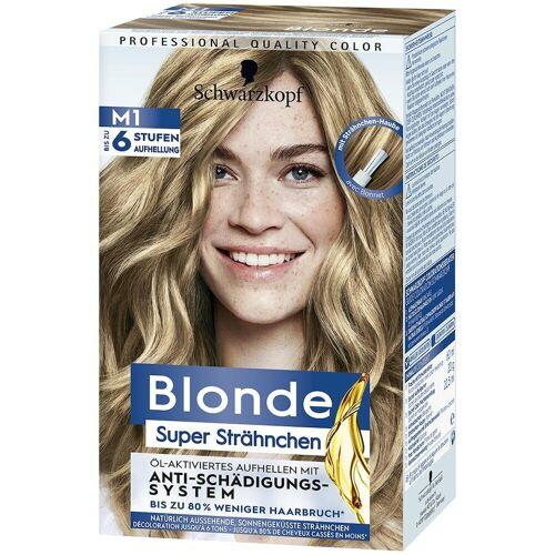 Blonde Strähnchen Haare Haarfarbe 102ml Damen
