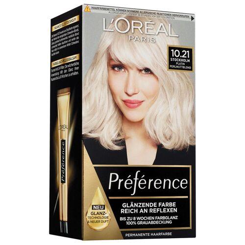 L´Oréal Paris Nr. 10.21 - Platin Perlmuttblond Haarfarbe