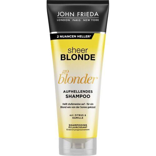 John Frieda Go Blonder Aufhellendes Shampoo