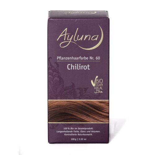 Ayluna Naturkosmetik Haarfarbe - Nr.60 Chilirot 100g