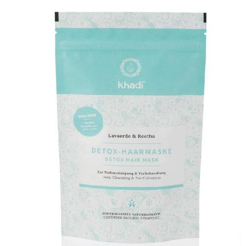 Khadi Naturkosmetik Detox Haarmaske - Lavaerde & Reetha 150g