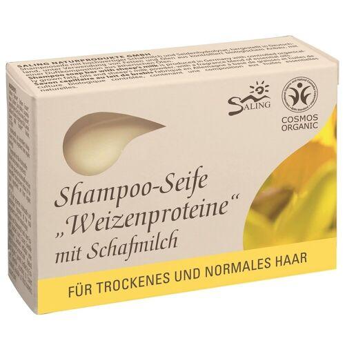 Saling Shampoo-Seife - Weizenprotein 125g