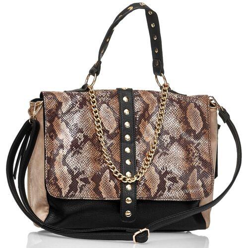 Emma & Kelly Tasche in stylischer Schlangenoptik