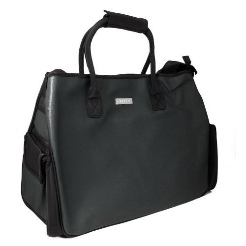 Edle grosse Shopper Tasche in schwarz Damen