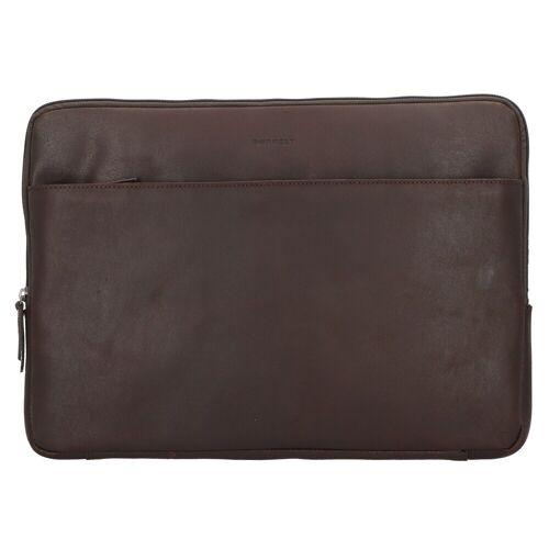Burkely Burkely Vintage Josh Laptophülle Leder 41 cm Laptopfach