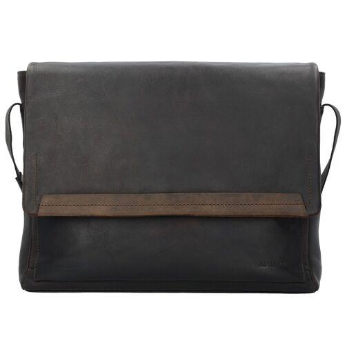 Strellson Strellson Camden Messenger Tasche Leder 40 cm