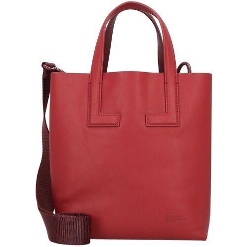 Lacoste Lacoste Duo Bag Handtasche Leder 20 cm