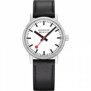 Mondaine Mondaine Unisex-Uhren Analog Quarz Silber Silber 32015964 Damenuhren Damen Damen