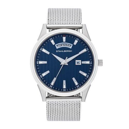 STAHLBERGH Armband-Uhr Varberg II silber Edelstahl silber