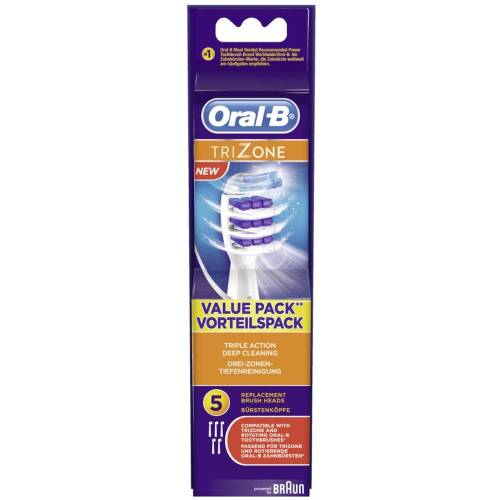 Oral-B Oral-B Aufsteckbürsten TriZone 5er