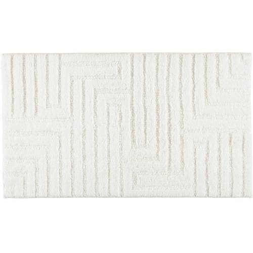 Cawö Cawö Badteppich Struktur 1004 weiß - 600