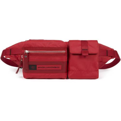 Piquadro Piquadro PQ-Bios Gürteltasche 32 cm   Rot