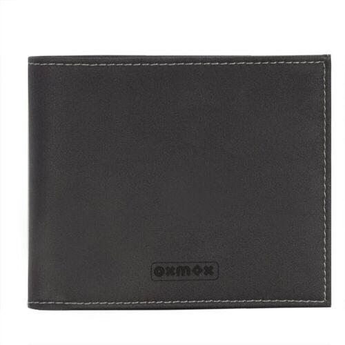 oxmox oxmox Touch-it Geldbörse 12 cm Herren  Grau