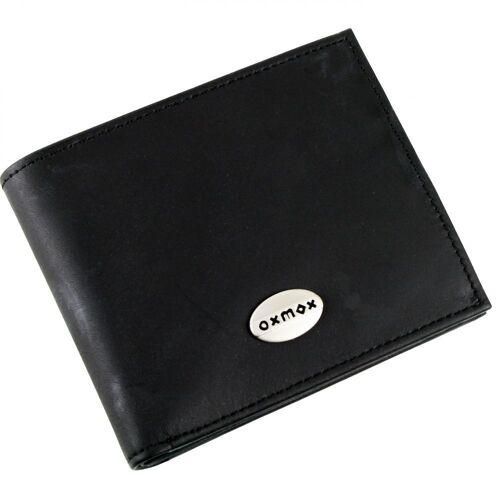 oxmox oxmox Leather Geldbörse Leder 12 cm