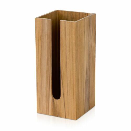 Möve Möve Toilettenpapier-Vorratsbehälter Teak 15x15x33cm , Teakholz ,