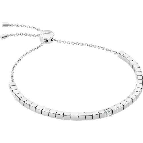 Calvin KLEIN Calvin Klein Damen-Armband Edelstahl, Kristall Kristall One Size 87506711 Damen