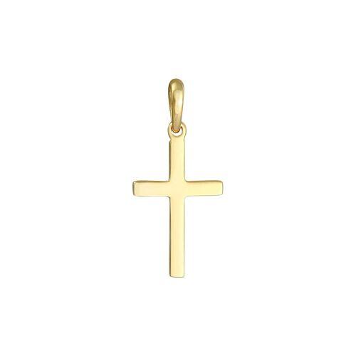 Elli Elli Anhänger Kreuz Schlicht Glaube Religion 925 Silber Damen