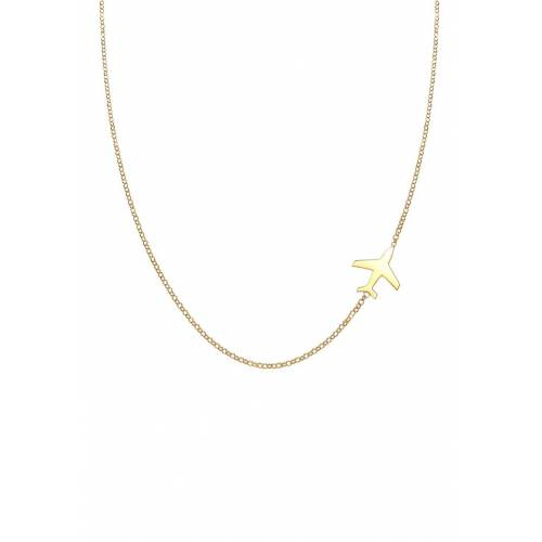 Elli Elli Halskette Flugzeug Travel Erbskette Trend 925 Silber Damen