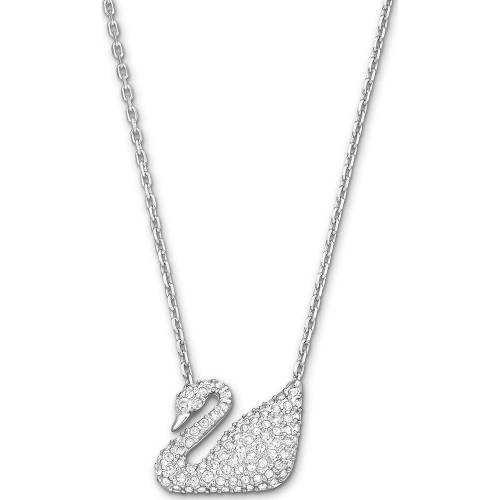 Swarovski Swarovski Damen-Kette Metall Silber 0 Swarovski Kristalle One Size 32002617 Damen