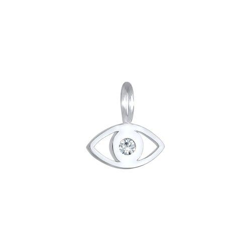 Elli Elli Anhänger Evil Eye Symbol Kristall 925 Silber