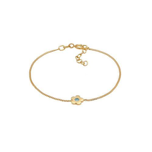 Elli Elli Armband Kinder Blume Kristalle 925 Silber