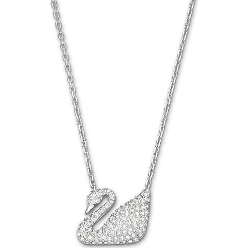 Swarovski Swarovski Damen-Kette Metall Silber 0 Swarovski Kristalle One Size 32002617