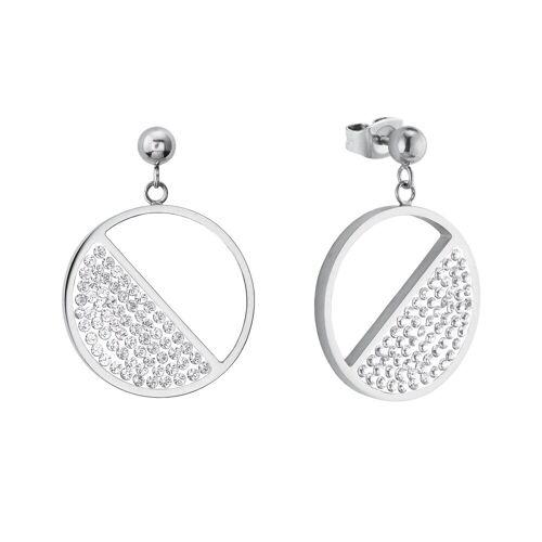 s.Oliver s.Oliver Ohrring für Damen mit funkelnden Swarovski® Kristallen