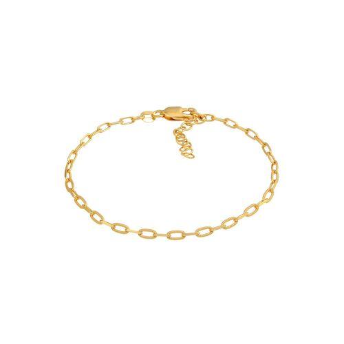 Elli Elli Armband Gliederarmband Oval Basic Chain Optik 925 Silber