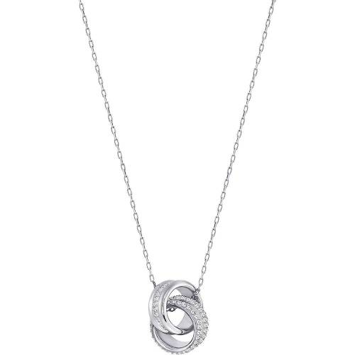 Swarovski Swarovski Damen-Kette Metall Swarovski Kristalle Silber Silber 32001370