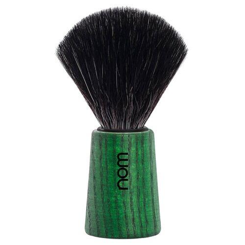 nom Rasierpinsel THEO Black Fibre Green Ash