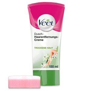 Veet Dusch-Haarentfernungs-Creme Trockene Haut Rasierer & Enthaarungstools 150.0 ml Damen Damen