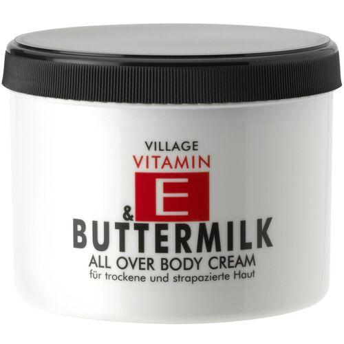 Village Buttermilk Körpercreme 500ml Damen