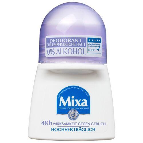 Mixa 0% Aluminium Salze Deodorant Roll-on Deodorant Roller 50ml