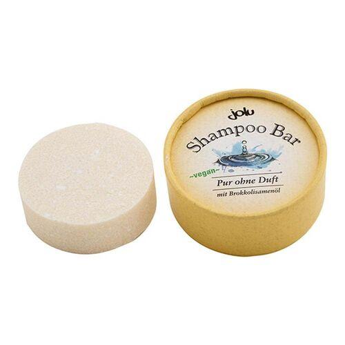 jolu Naturkosmetik Shampoo Bar - Pur ohne Duft 50g