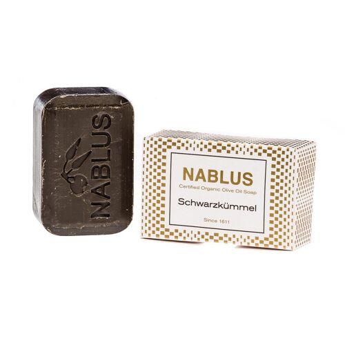 Nablus Soap Olivenseife - Schwarzkümmel 100g