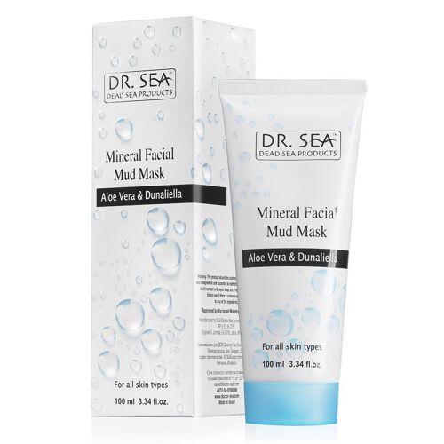 Dr. Sea Mineral Facial Mud Mask - Aloe Vera & Dunaliella 100ml