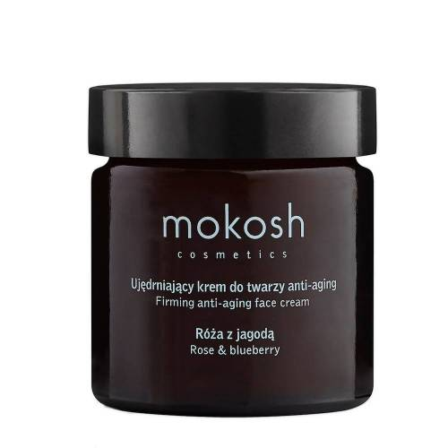 mokosh mokosh Straffende Anti-Aging-Gesichtscreme - Rose & Blaubeere
