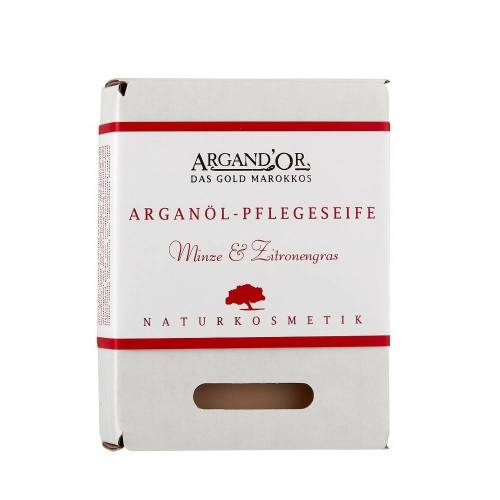 ARGAND'OR Arganöl - Pflegeseife Minze & Zitronengras 100g