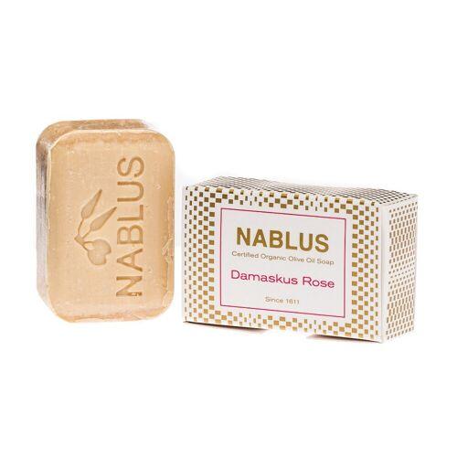 Nablus Soap Olivenseife - Damaskus Rose 100g
