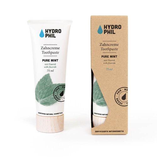 Hydrophil Zahncreme - Pure Mint 75ml