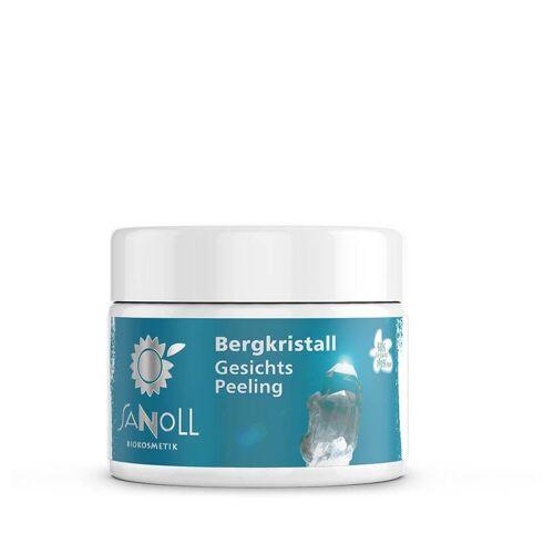 Sanoll Bergkristall - Gesichtspeeling 50ml