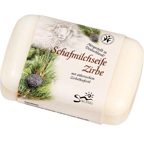 Saling Schafmilchseife - Zirbe 100g