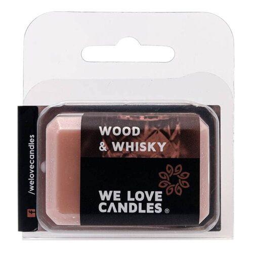 Duftwachs Basic - Wood & Whisky 15g