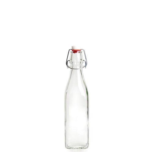 BUTLERS SWING 4x Glasflasche mit Bügelverschluss 250 ml