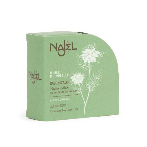 Najel Aleppo-Seife - Schwarzkümmel 100g