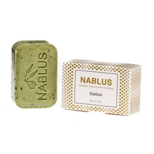 Nablus Soap Olivenseife - Salbei 100g