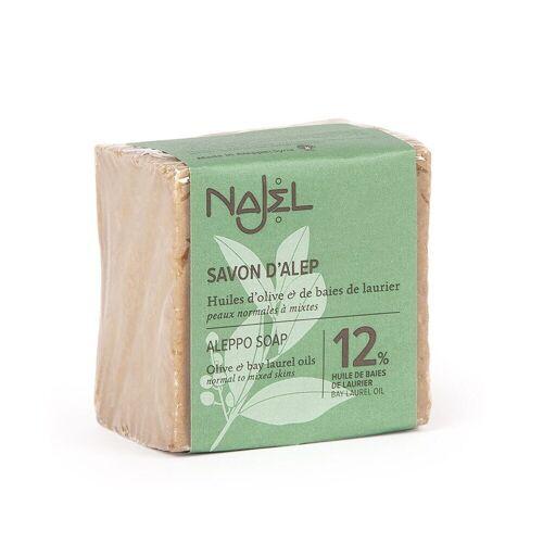 Najel Aleppo-Seife - 12% Lorbeeröl 170g